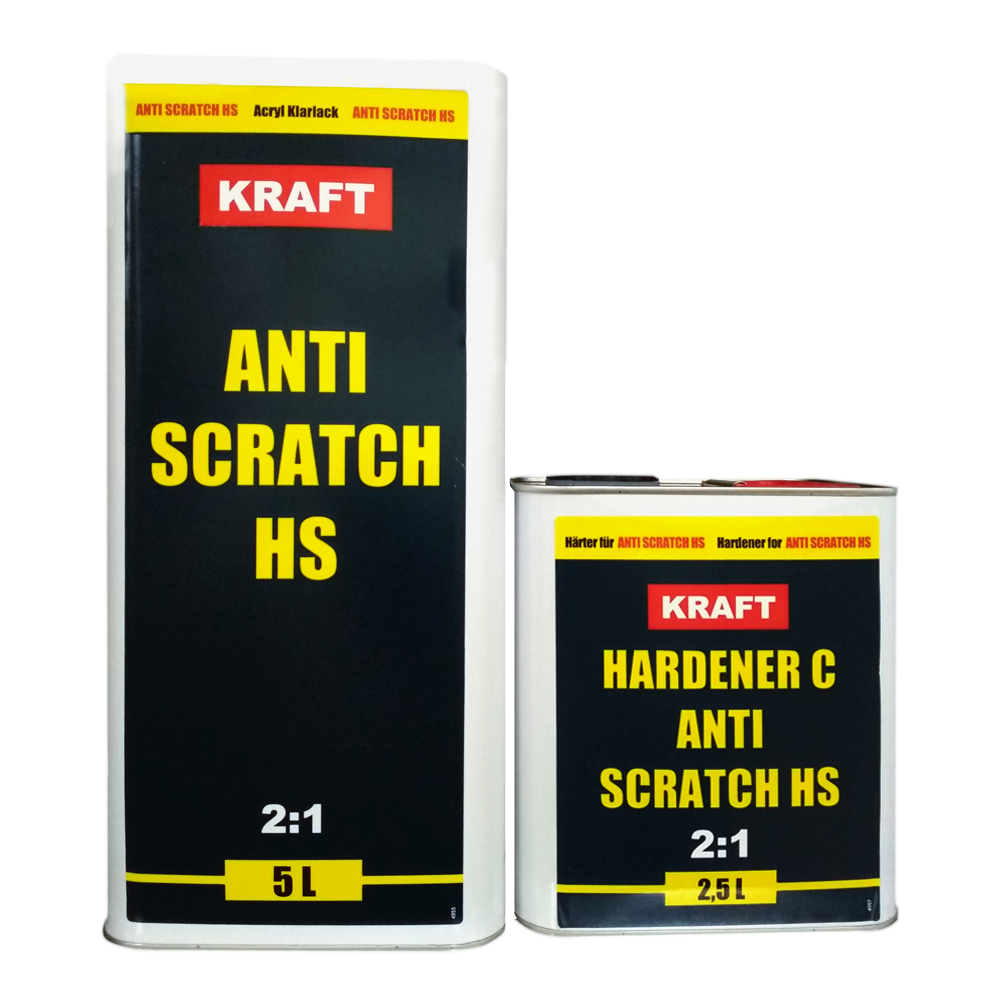 Лак акриловый KRAFT ANTI SCRATCH HS